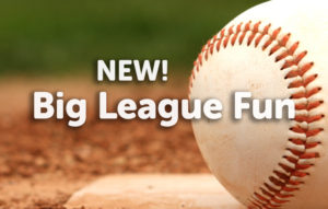 Big League Fun baseball children's museum exhibit rental new
