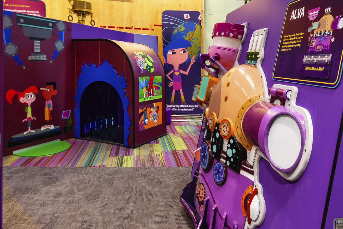 Thomas Edison's Secret Lab - Betty Brinn Children's Museum